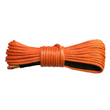 off-road synthetic paraglider manual winch towing rope
